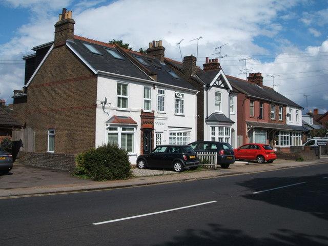 Houses on Bundick's Hill, Chelmsford