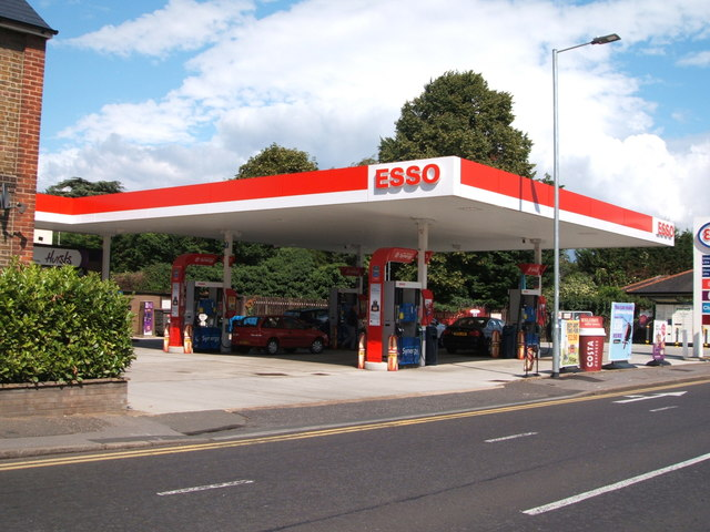 Service station on Rainsford Road, Chelmsford