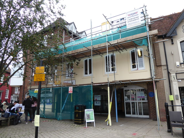 Scaffolding on the library