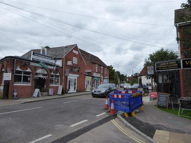 Roadworks in Petersfield (2)