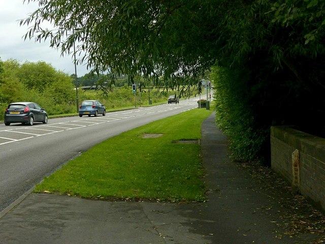 A609 at Straw's Bridge
