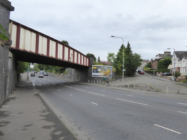 Railway bridge, Pollokshaws