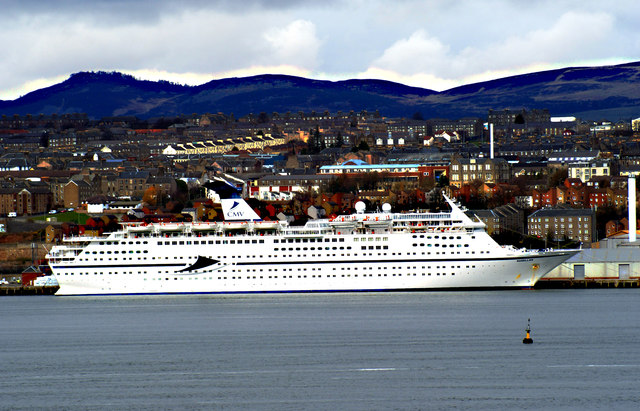 Dundee Harbour, from Fife