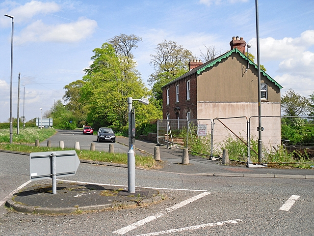 House near the A689 Linstock roundabout