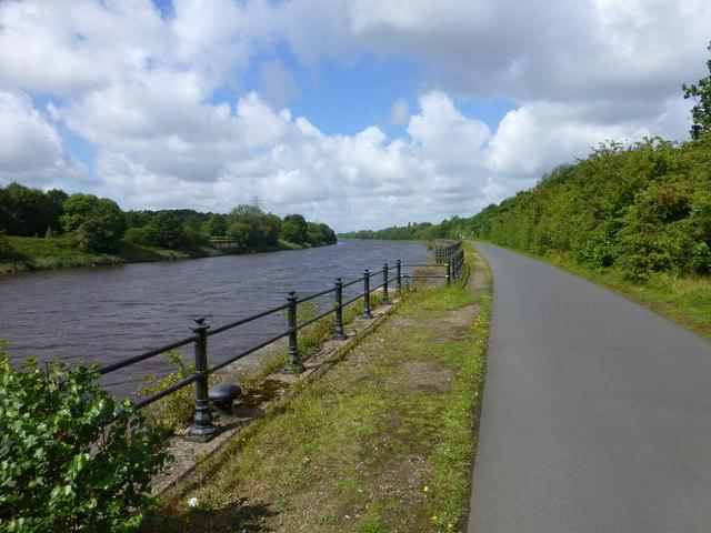 The River Ribble near Albert Edward Dock