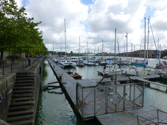 The marina at Albert Edward Dock
