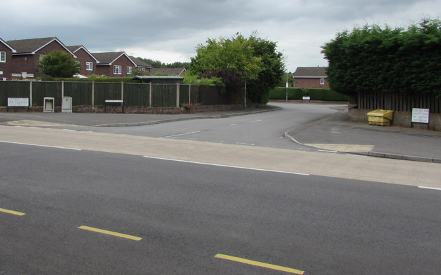 Western end of Croesonen Parc, Mardy