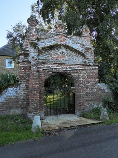 Gateway near Brook Farm