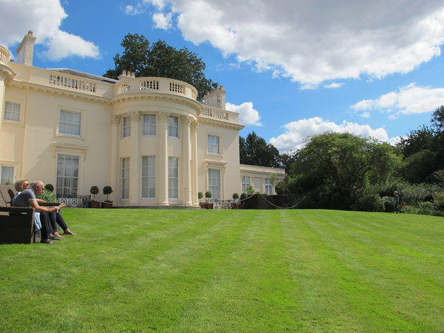 The Holme from its lawn