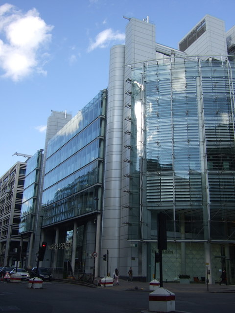 Marks & Spencer, Moorgate, London