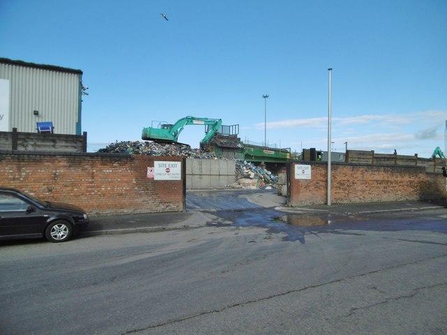 Gorton, recycling centre