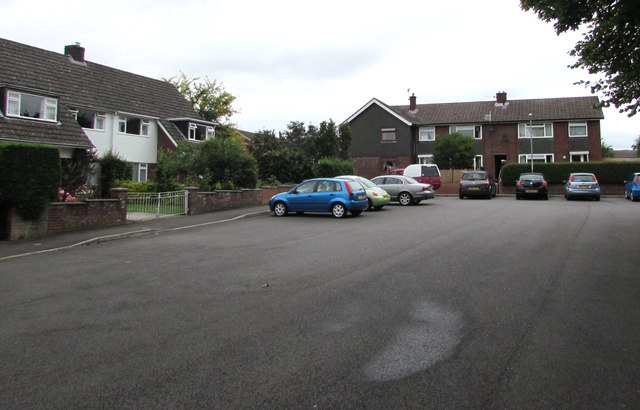 Northern end of St Francis Close, Mardy