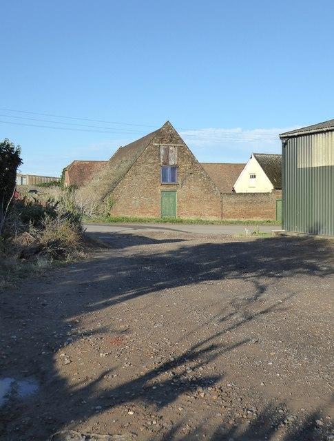Farm outbuildings at Brook Farm