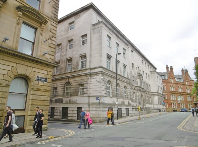 Manchester, former Police HQ