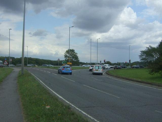 Roundabout, Junction 7, M11