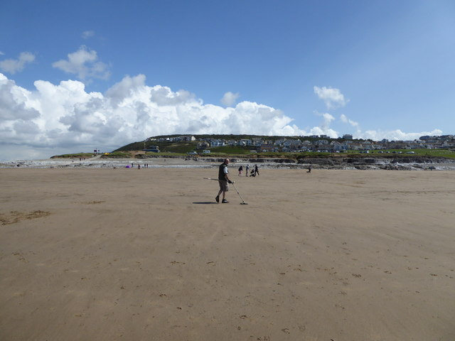 On the beach at Ogmore-by-Sea