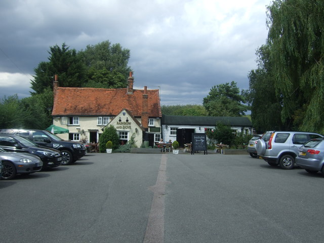 The Rainbow and Dove public house, Hastingwood