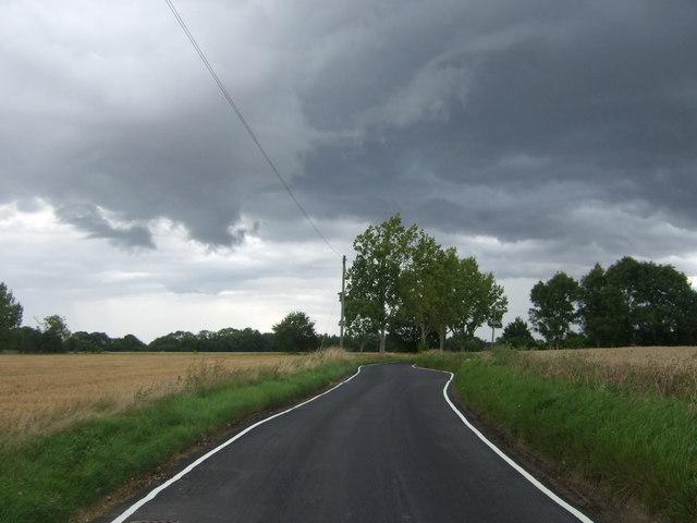 Heading north, Wind Hill