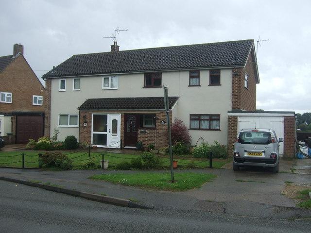 Houses on Ongar Road, Fyfield