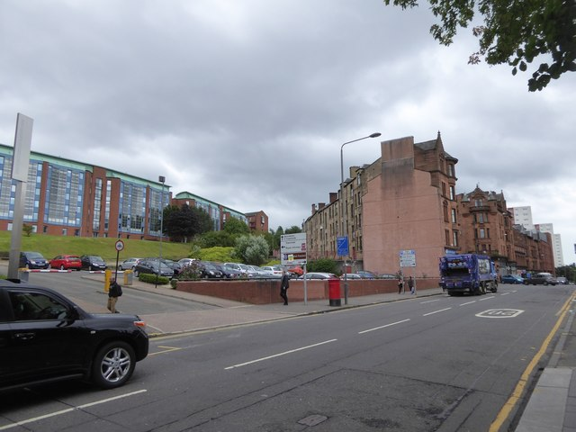 Car park and student accommodation, Strathclyde University