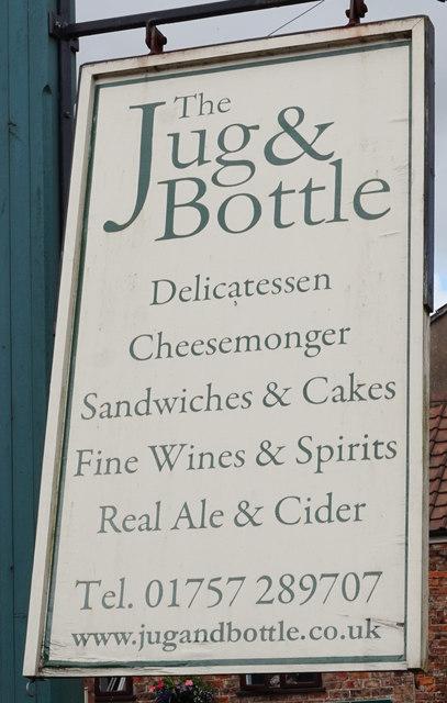 Jug & Bottle on Main Street, Bubwith