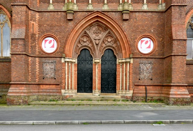 St Benedict's doors