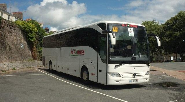 French coach, Torquay coach station