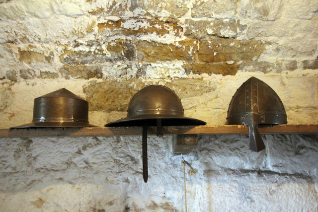 Choice of Medieval Headgear at Chirk Castle