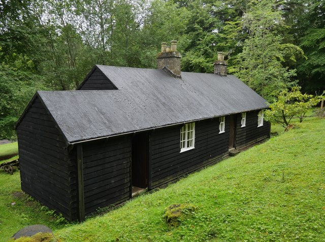 A 'Blackhouse' At Catcleugh
