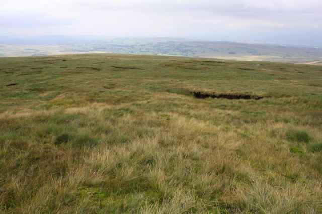 Greenrigg Moss on the descent from Wild Boar Fell