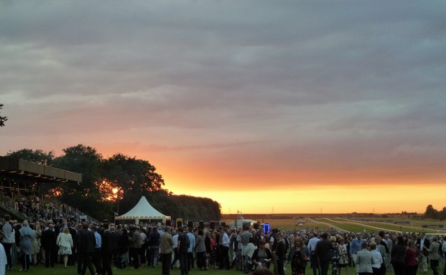 Sunset on The July Course, Newmarket