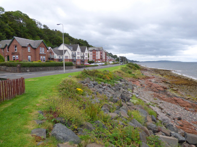 The shore at Skelmorlie