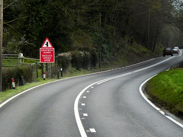 A483 near Glenhafren