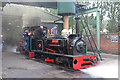 SK2406 : Statfold Barn Railway - ready for action by Chris Allen