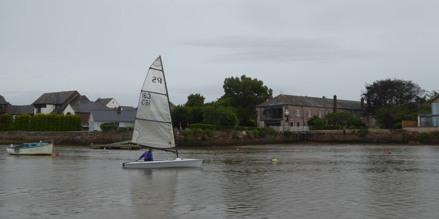 Sailing on the Exe at Topsham