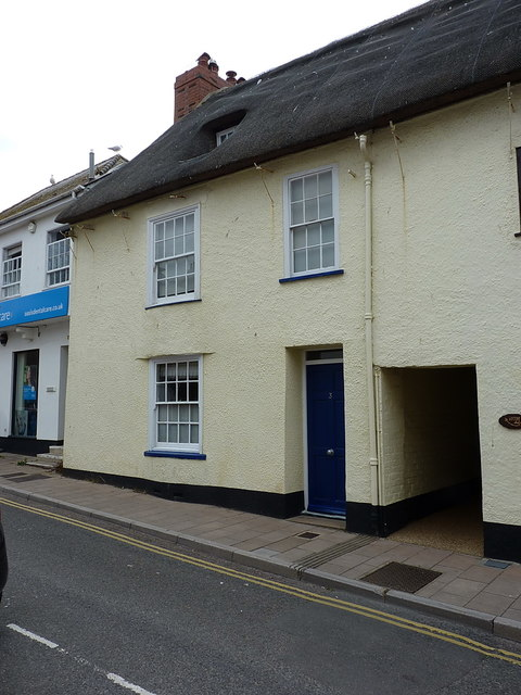 No 3, Mill Street, Sidmouth