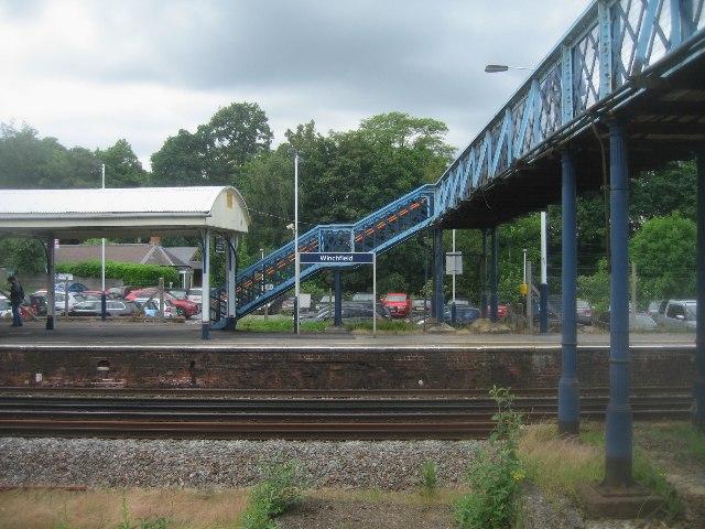 Old style footbridge