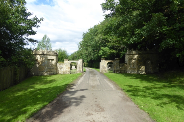 Entrance to Howsham Hall