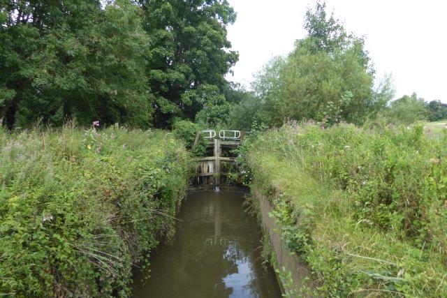 Lock near Howsham Mill