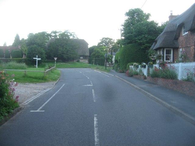Oakley Lane - south end