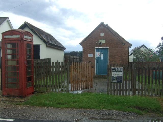 Telephone Exchange on Fyfield Road, Willingale