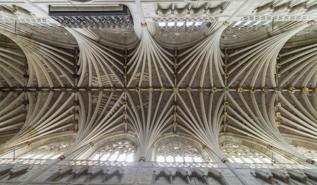 Nave vaulting, Exeter Cathedral