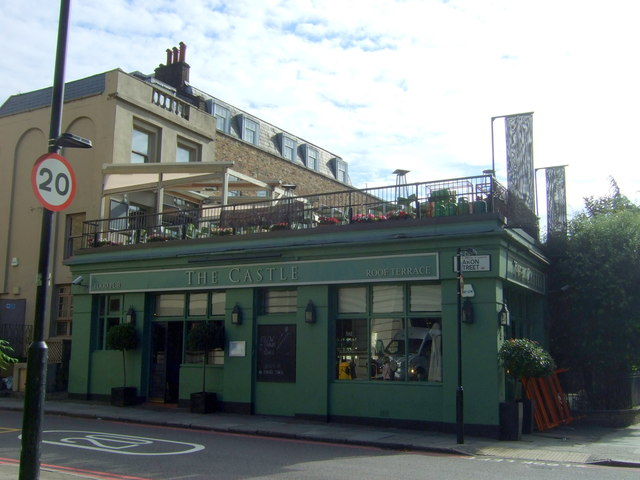The Castle public house, Pentonville, London