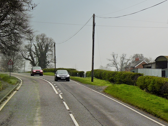 A483 near to Fron