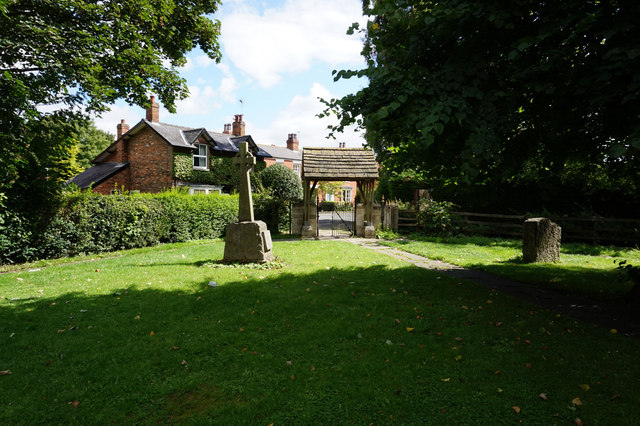 Lych gate at All Saints Church, Bubwith