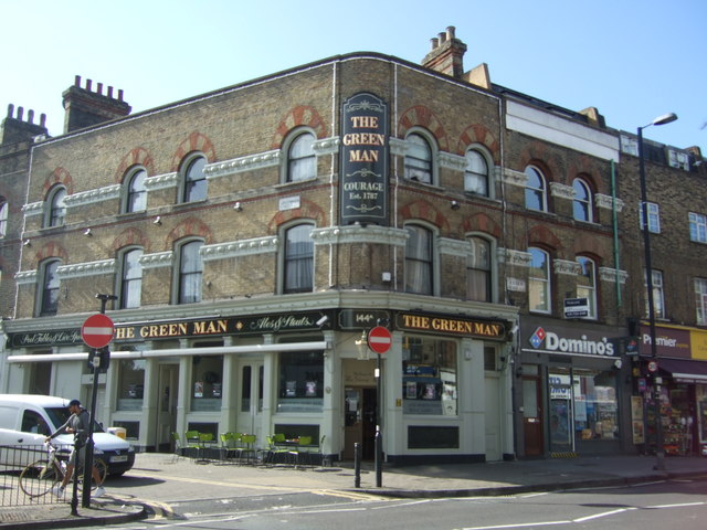 The Green Man public house, London N1