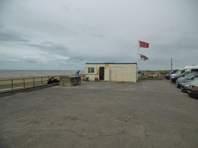 Crosby, lifeguard post
