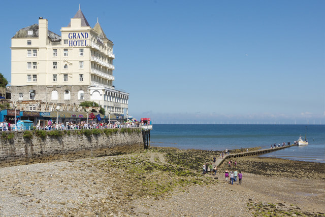 Llandudno Beach and Grand Hotel
