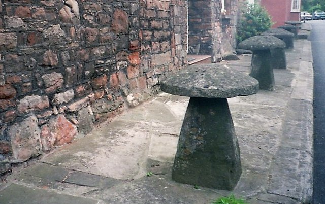 Staddle stones Chew Magna