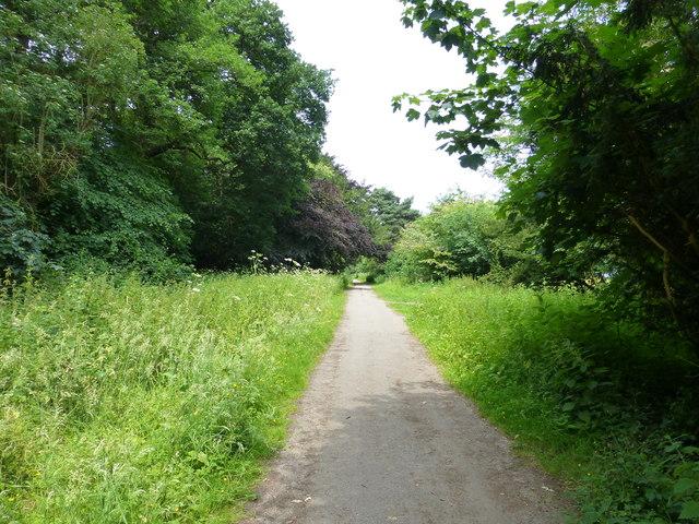 The Chester Approach drive near Eccleston
